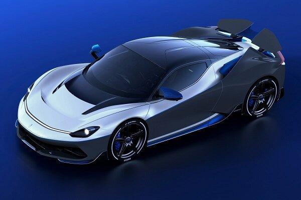 فراوری خودروی برقی با حداکثر سرعت 350 کیلومتر در ساعت