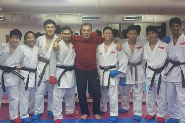 تیم ملی کاراته سنگاپور با نظارت یک ایرانی تمرین کرد