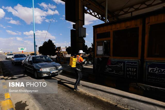 بازگشت 542 خودرو از پایگاه های غربالگری شهرستان شاهین شهر و میمه